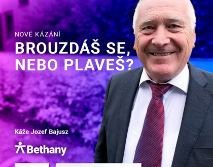 Jozef Bajusz: Brouzdáš se, nebo plaveš? (23. května 2020)